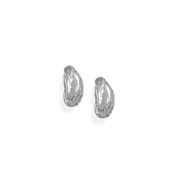 Mini Oyster Post Earrings