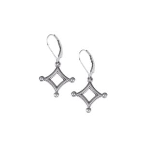 DAR Diamond Leverback Earrings