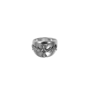 DAR Cigar Band Cross Ring