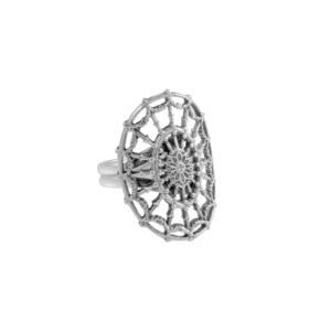 DAR Adjustable Oval Ring Vertical