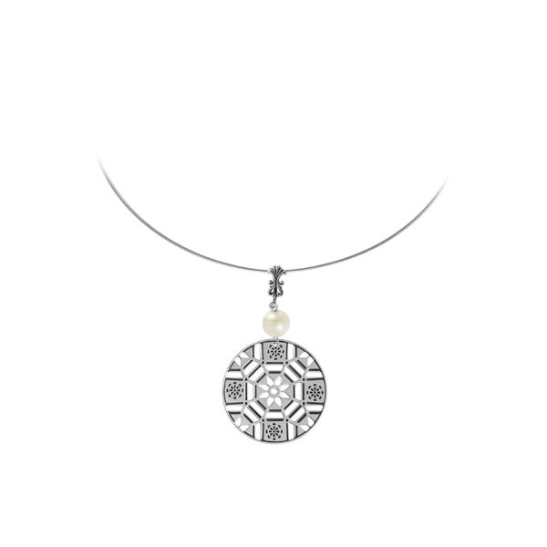 First Baptist Sterling Omega Necklace