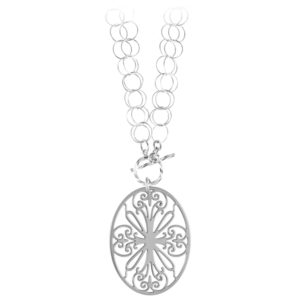 St. Philip's Double Toggle Necklace