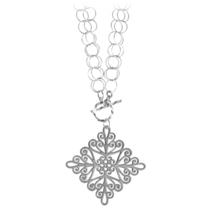 St. Michael's Double Toggle Necklace