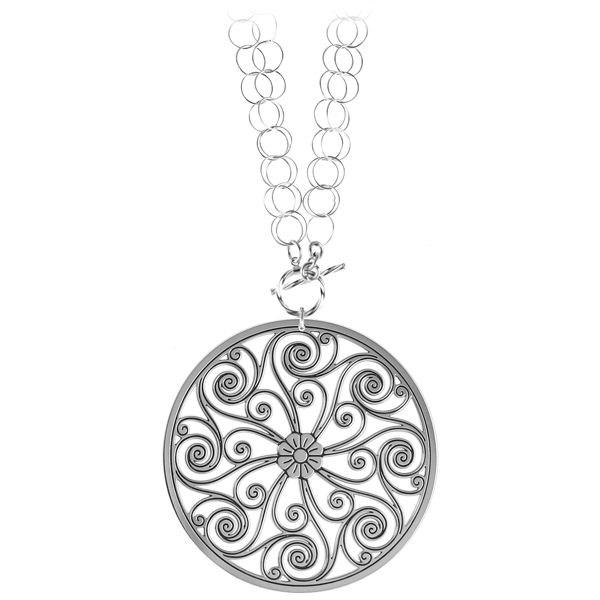 Market Hall Double Toggle Necklace