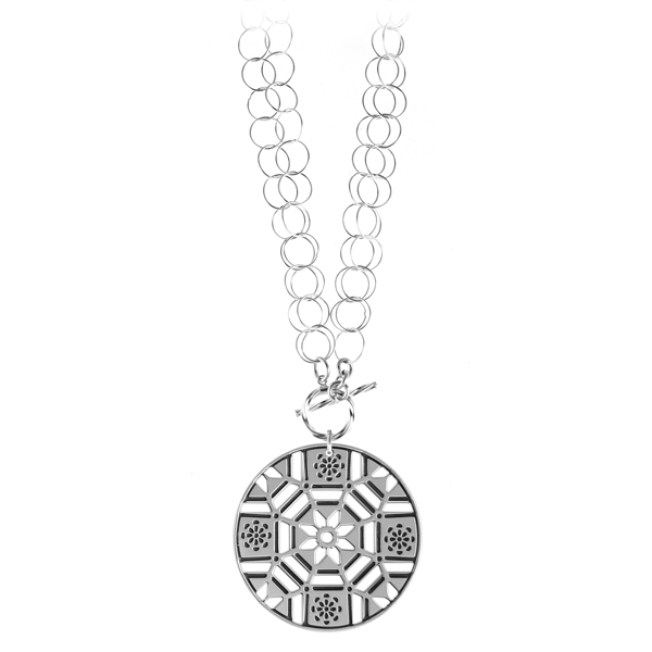 First Baptist Double Toggle Necklace