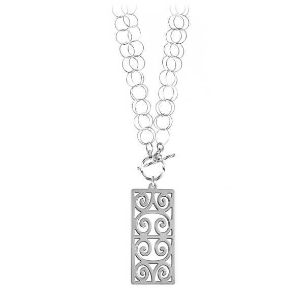 First Scot Double Toggle Necklace