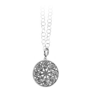 Market Hall Mini Ring Necklace