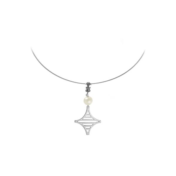 Legare Street Sterling Omega Necklace