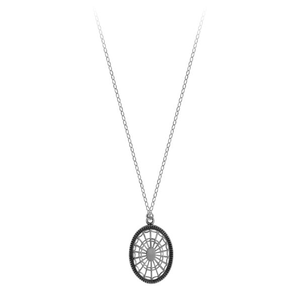 Nathaniel Russell Federal Oval Necklace on Light Chain
