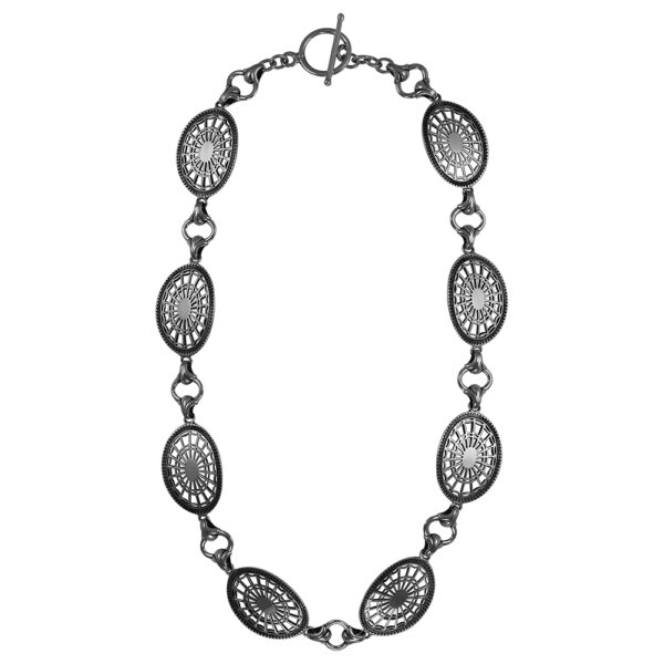 Nathaniel Russell Federal Oval Toggle Linked Necklace