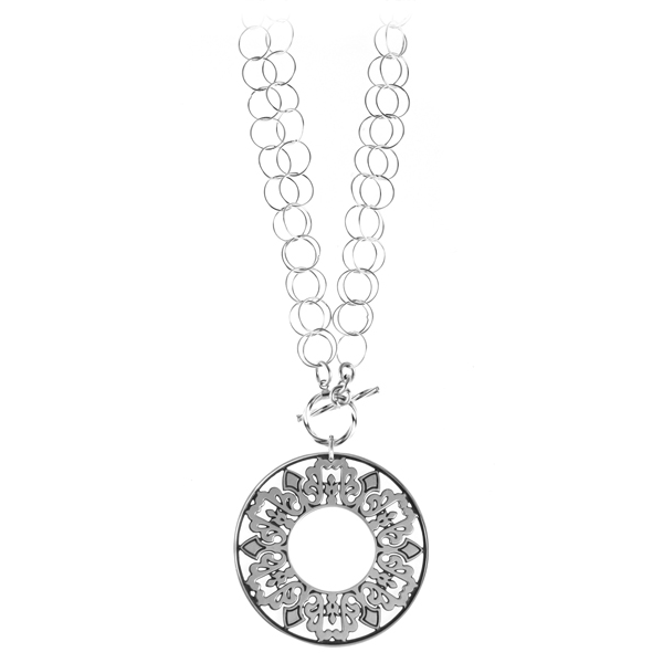 Cooper Bee Double Toggle Necklace