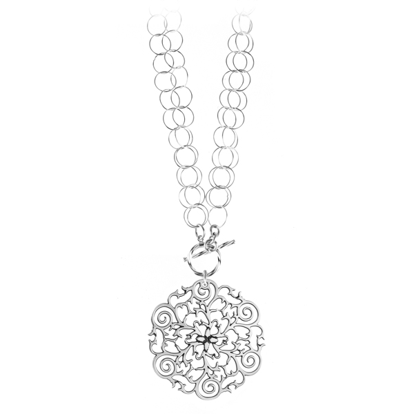 St. Philip's Steeple Double Toggle Necklace