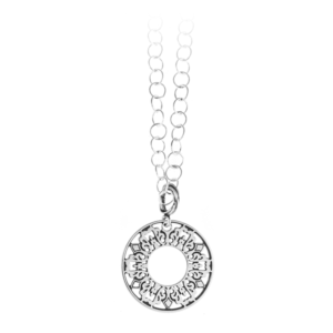 Cooper Bee Mini Ring Necklace