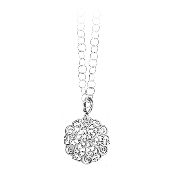 St. Philip's Steeple Mini Ring Necklace