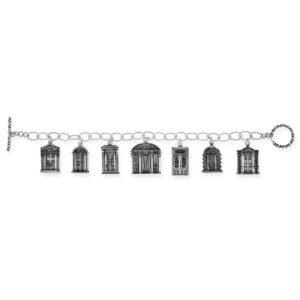Doors of Charleston Charm Bracelet