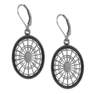 Nathaniel Russell Federal Oval Leverback Earrings