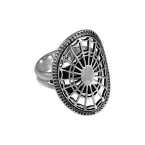 Nathaniel Russell Federal Oval Adjustable Ring