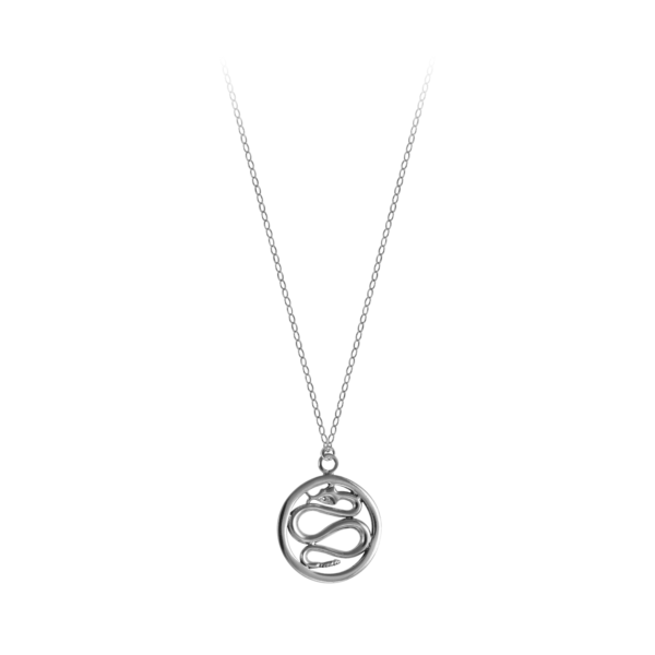 Philip Simmons Snake on Cable Chain Necklace