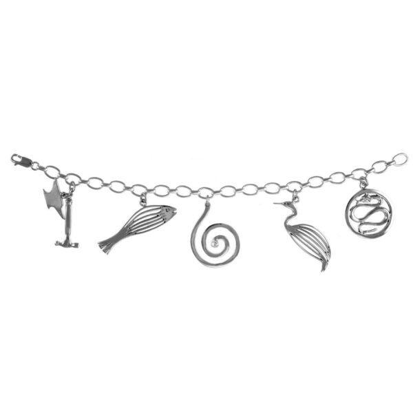 Philip Simmons 5 Charm Bracelet