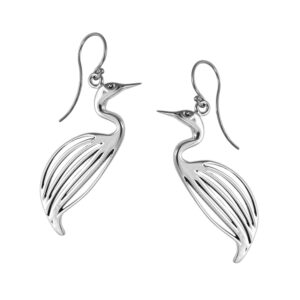 Philip Simmons Egret Earrings