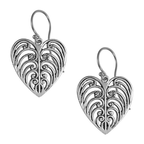 Philip Simmons Heart Drop Earrings