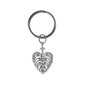 Philip Simmons Heart Key Ring