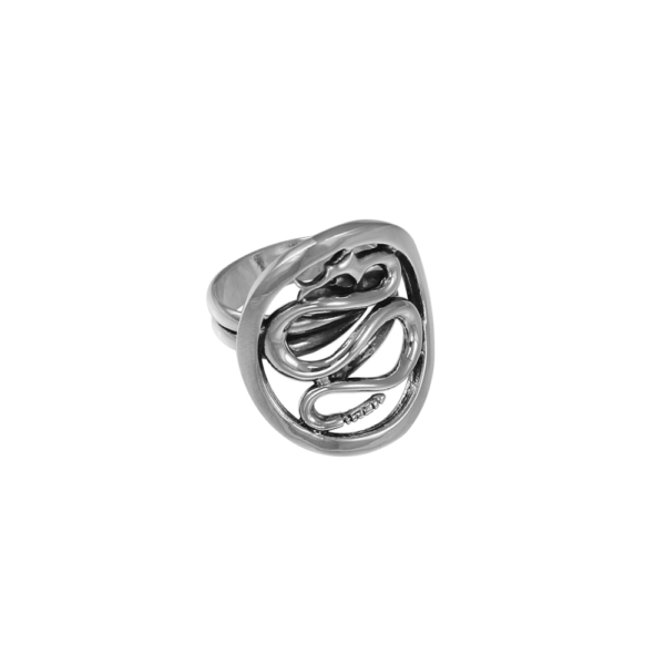 Philip Simmons Snake Adjustable Ring