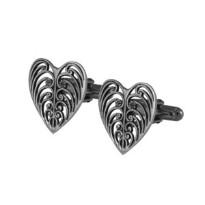 Philip Simmons Heart Cuff Links